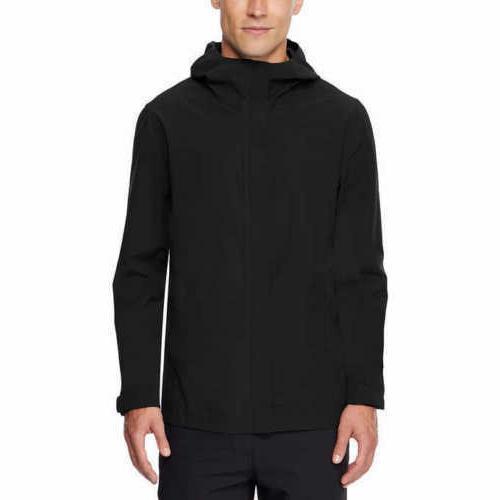 32 Degrees Cool Men's Performance Waterproof Rain Jacket COL