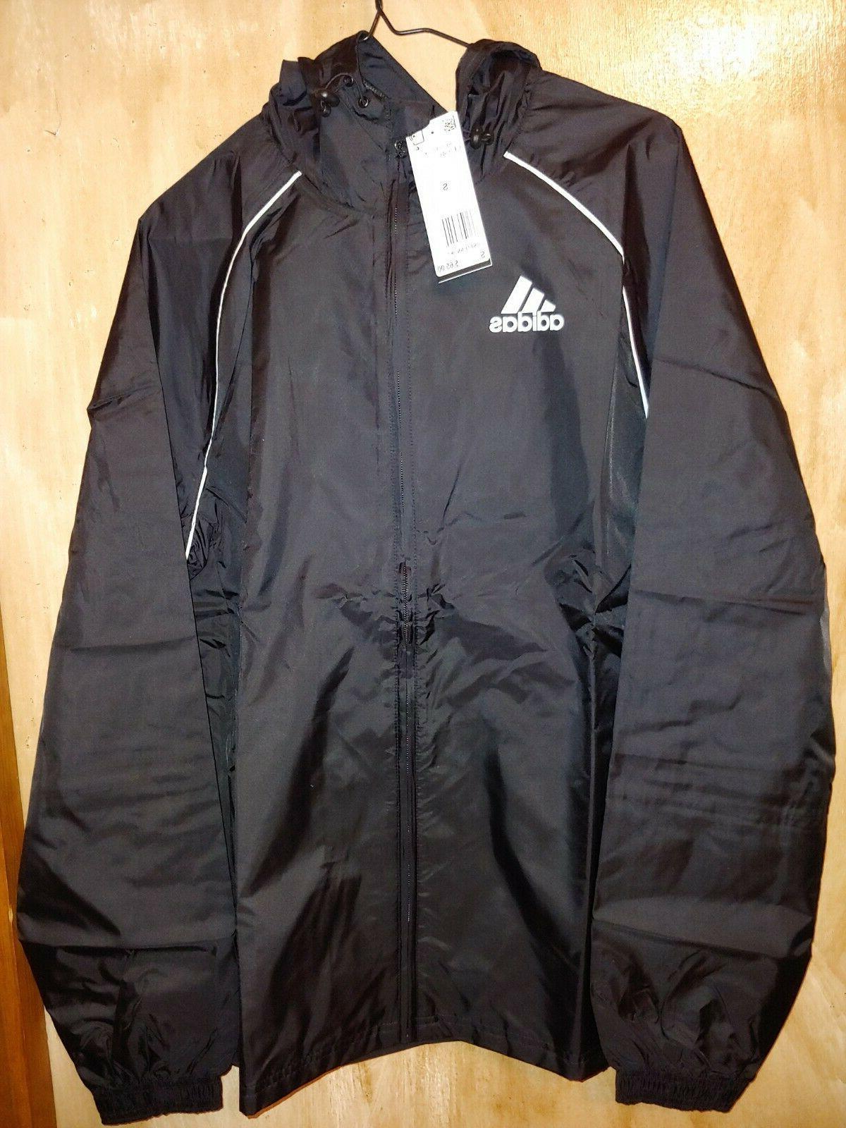 cee07087c11d4 Adidas Core 18 Rain Jacket Windbreaker ...