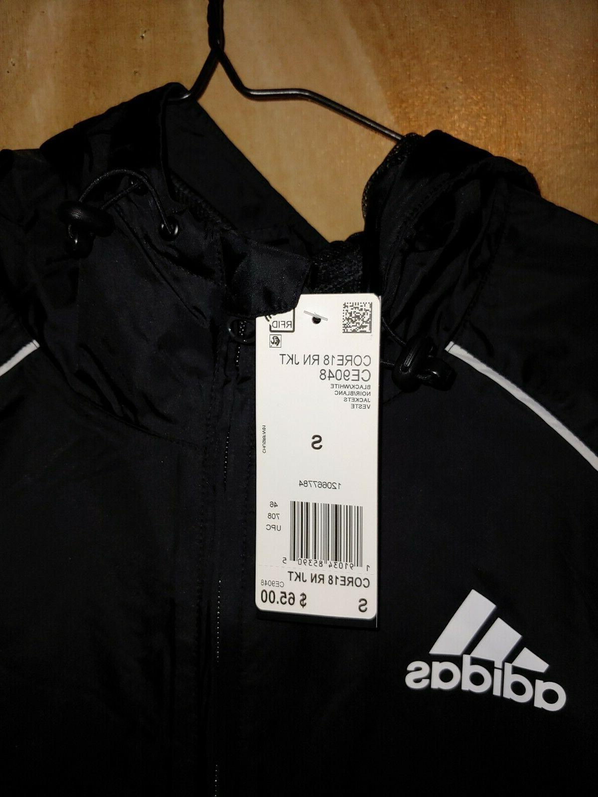 core 18 rain jacket ce9048 windbreaker hooded