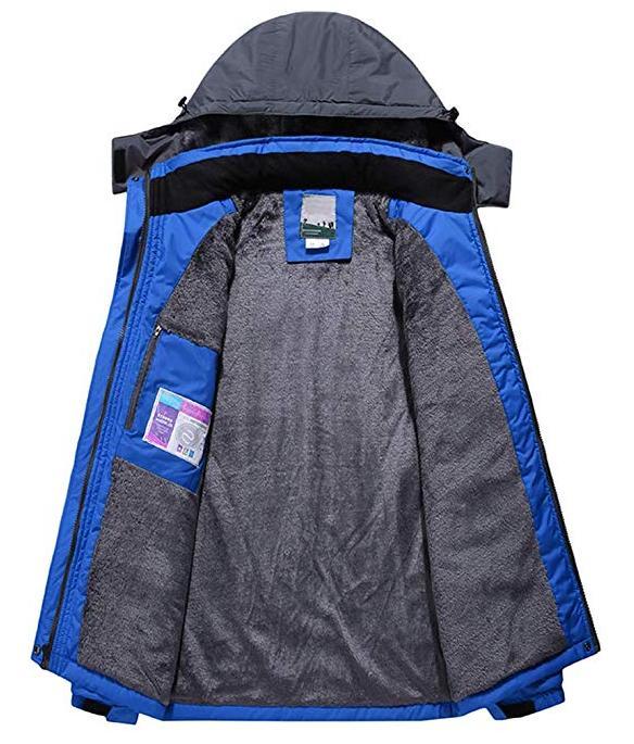 Couple Mountain Fleece Jacket Windproof Rain Jacket