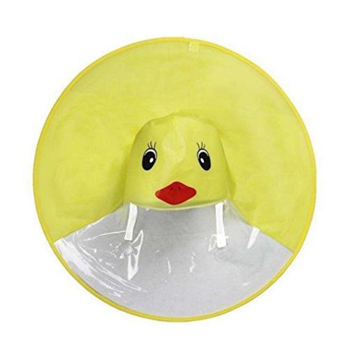 cute rain coat ufo cute cartoon duck