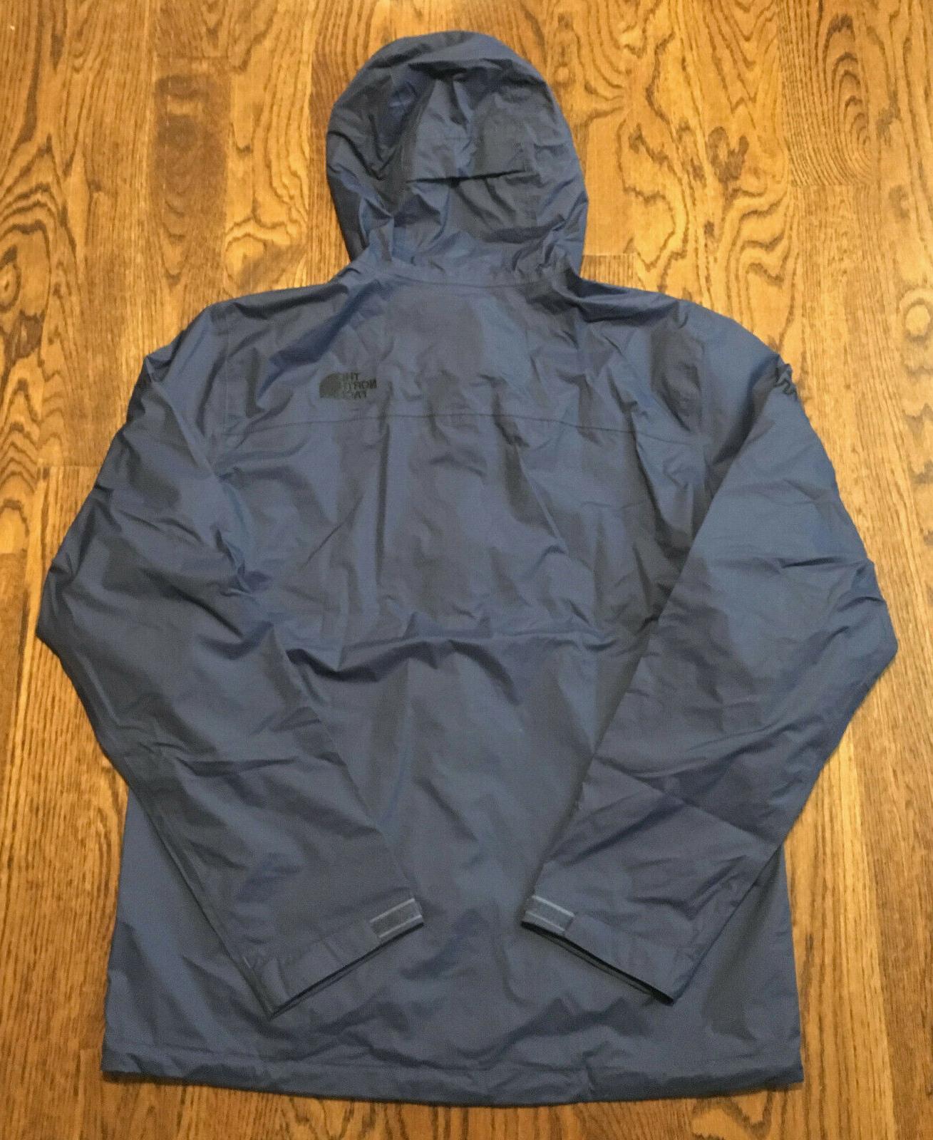 The Rain Jacket Mens Shady Blue NWT