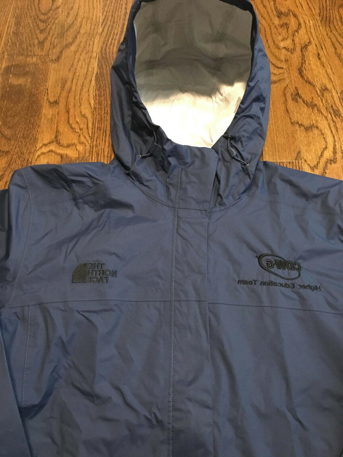 The North Face Rain Shady Blue Raincoat NWT