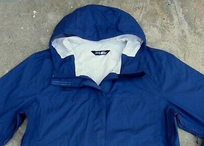 Venture 2 Lightweight Rain Jacket Men's L NWT Blue hooded