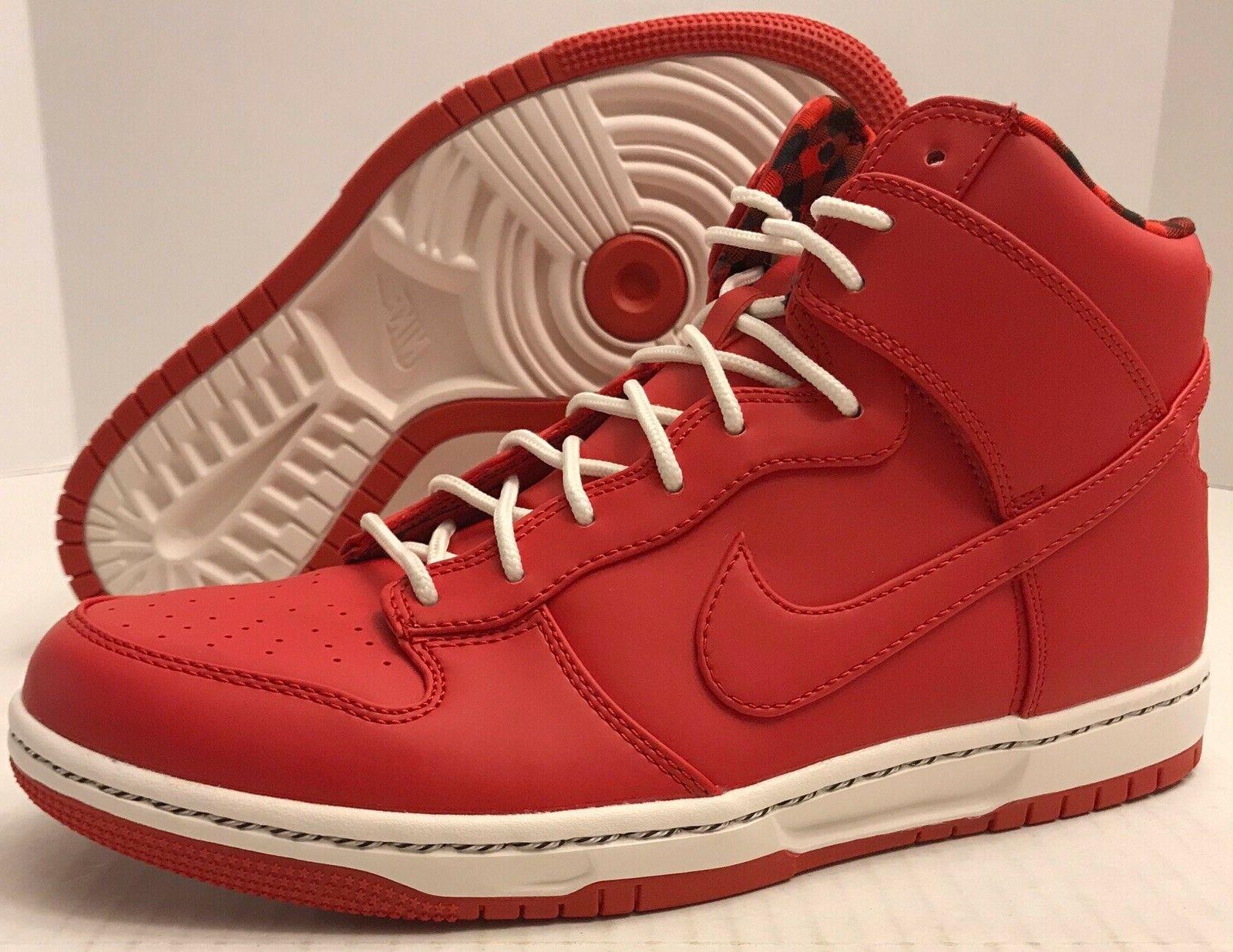 Nike Dunk Ultra Red Racer Rain Jacket Casual Sneaker New 845