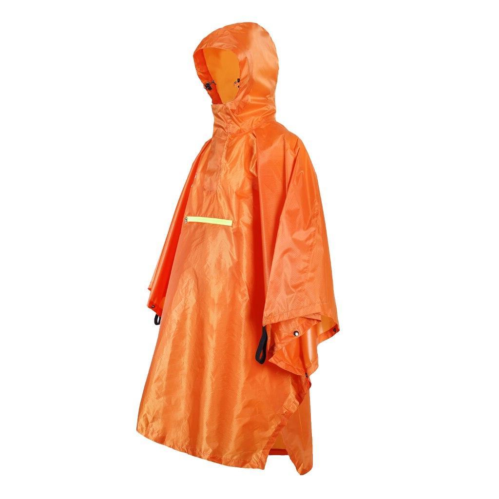 Emergency <font><b>Lightweight</b></font> Outdoor <font><b>Rain</b></font> Proof Poncho Coat Strip Raincoat