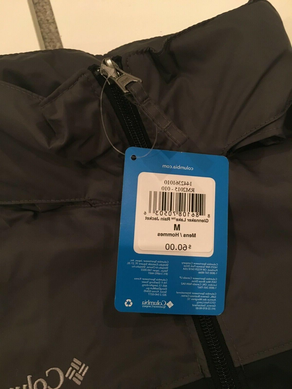 Columbia Glennaker Jacket M - NWT