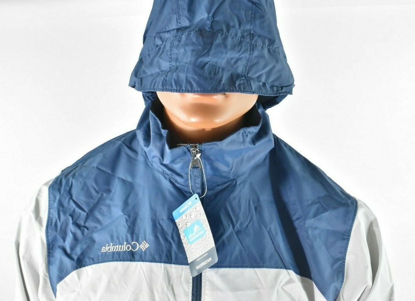 Columbia Glennaker Lake Rain Jacket XXL Gray