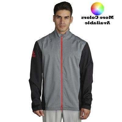 Adidas Golf 2017 Climaproof Heather Rain Jacket - Pick Size
