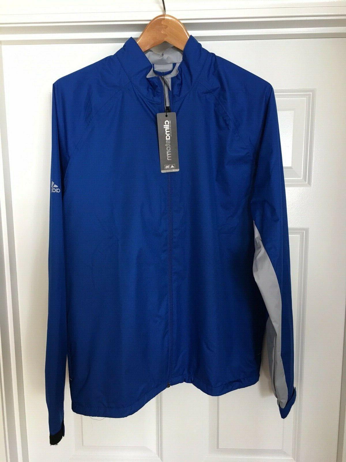golf climastorm full zip rain jacket size