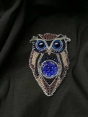Handmade Brooch Women Accessories Jacket Coat with
