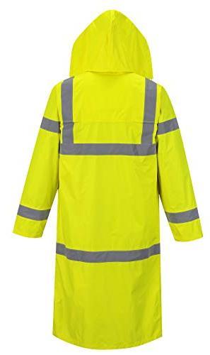 Portwest Hi-Vis Coat in Hi-Vis Rain