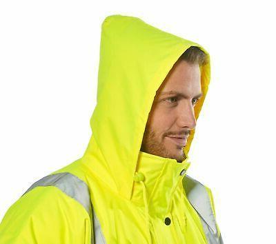 Hi Mens Rain Jacket, Visibility Reflective