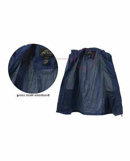 Gioberti Hooded Waterproof Jacket JA945 L