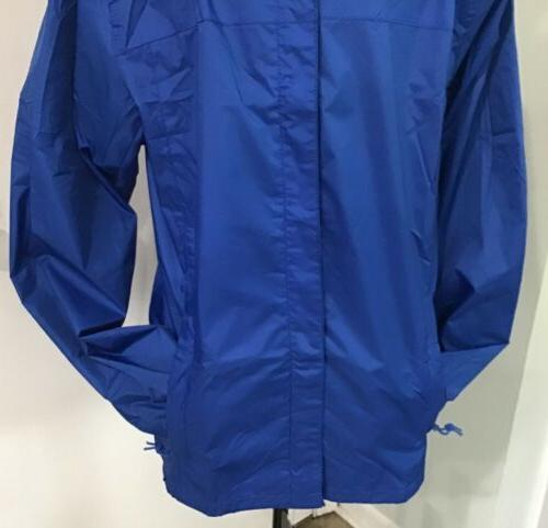 Gioberti Waterproof Rain Jacket Royal Blue JA945 New $54.95