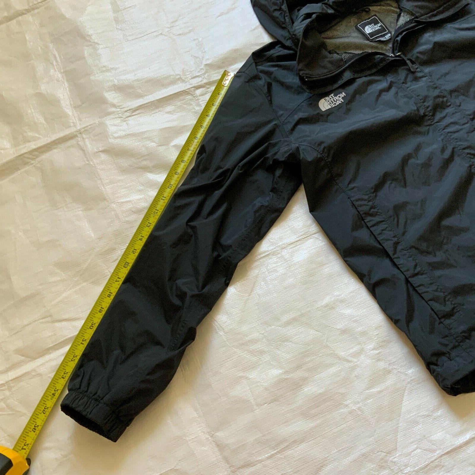 THE Windbreaker Zip Rain Jacket Black