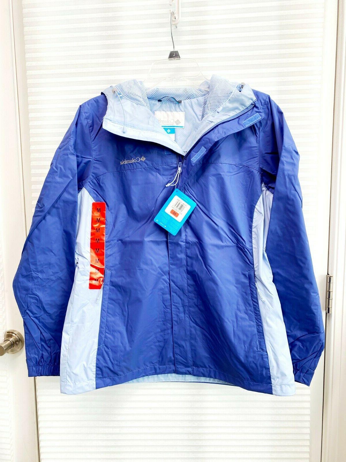 Columbia Ladies' Rain Waterproof Jacket With Hood