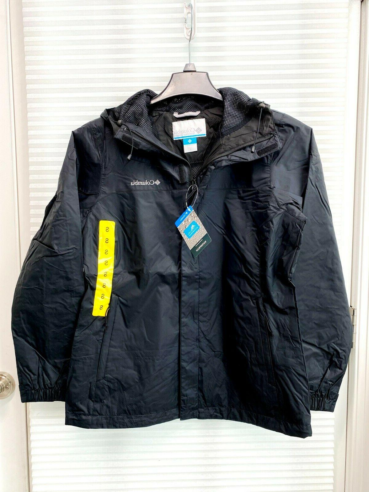 Columbia Waterproof Fabric Rain Jacket