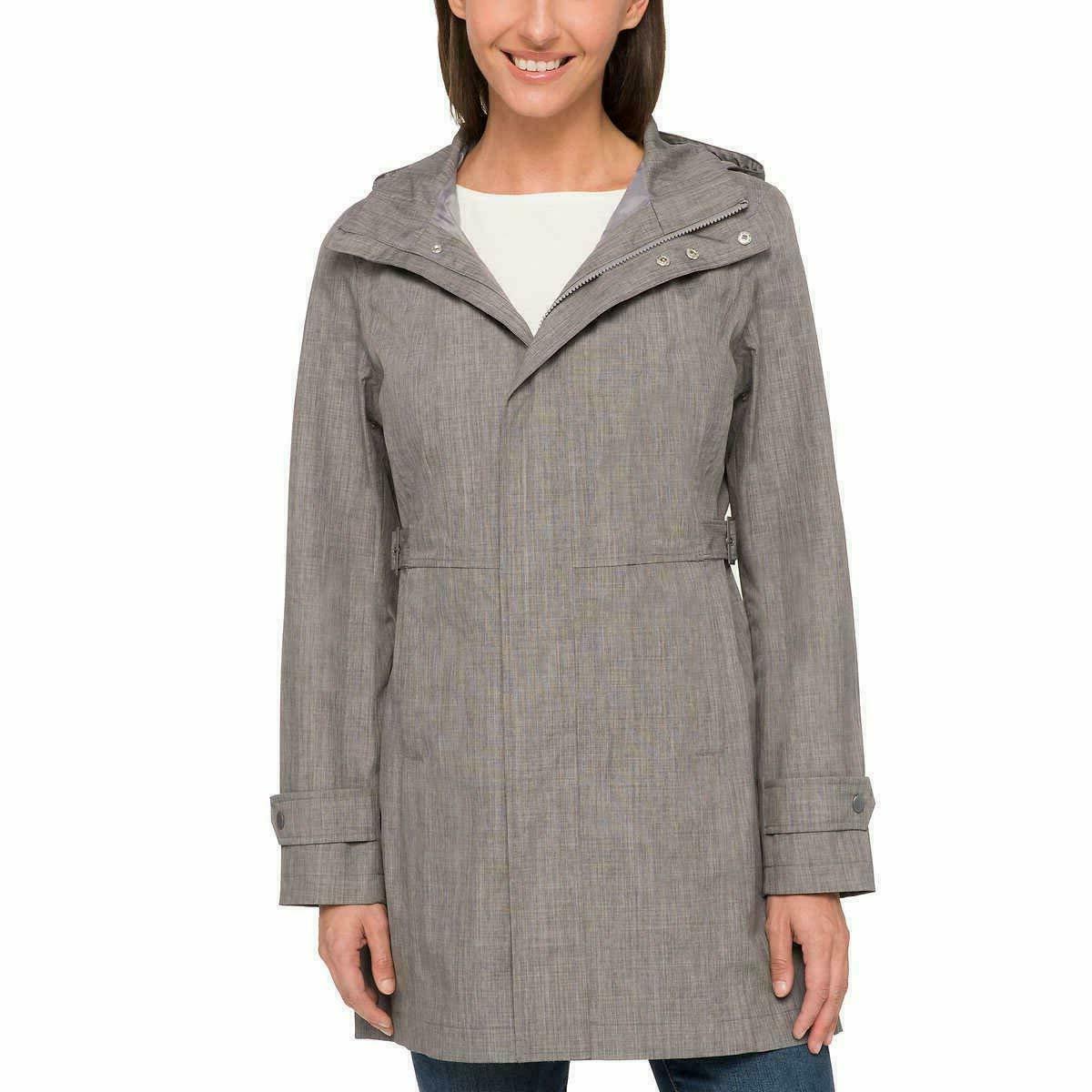 Kirkland Ladies' Trench Rain Coat Waterproof