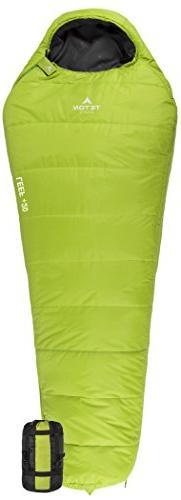 TETON Sports LEEF Lightweight Adult Mummy Sleeping Bag; Grea