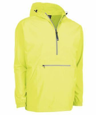 men rain jacket yellow size 2xl hooded