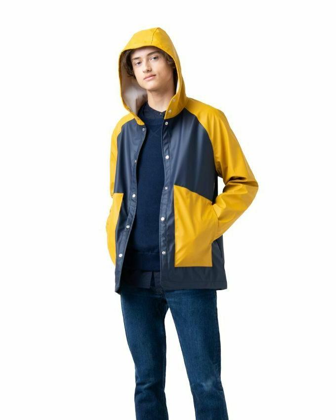 Men's Herschel Classic Jacket L Raincoat Waterproof