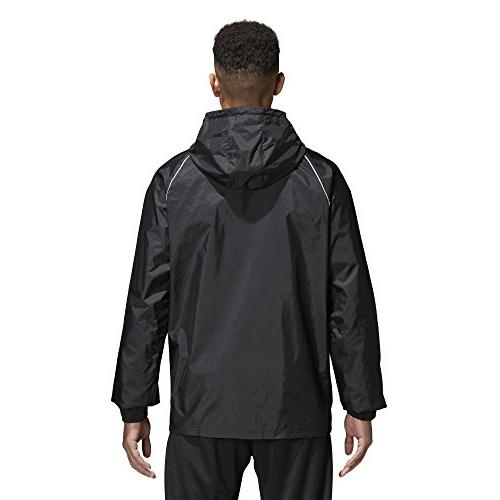 adidas Men's Core 18 Rain Jacket from