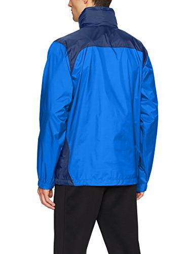 Rain Jacket, Azul, Navy,