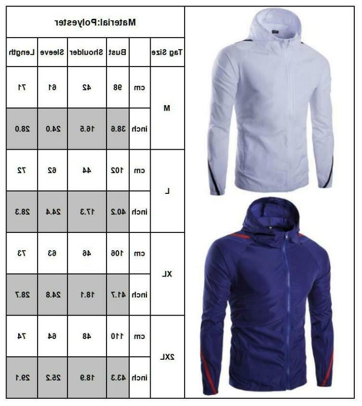 Men's Windproof Outdoor Rain Hoodie
