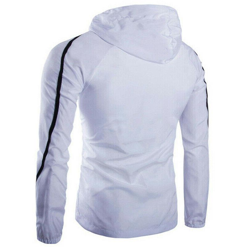 Men's Windproof Hoodie Coat