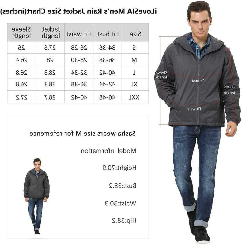Ilovesia Hooded Rain Jacket Outdoor G2