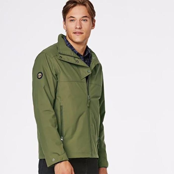 Timberland Men's Waterproof Olive Jacket