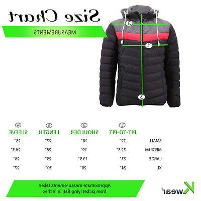 Men's Slim Coat Retro Lightweight Puffer Jacket