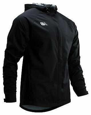 men s sport rain jacket black