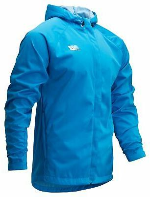 men s sport rain jacket blue