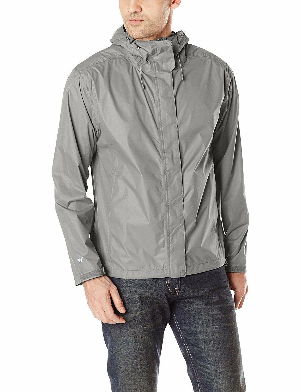34bd0212cf7b3 White Sierra Men s Trabagon Rain Full Zip Hooded Jacket