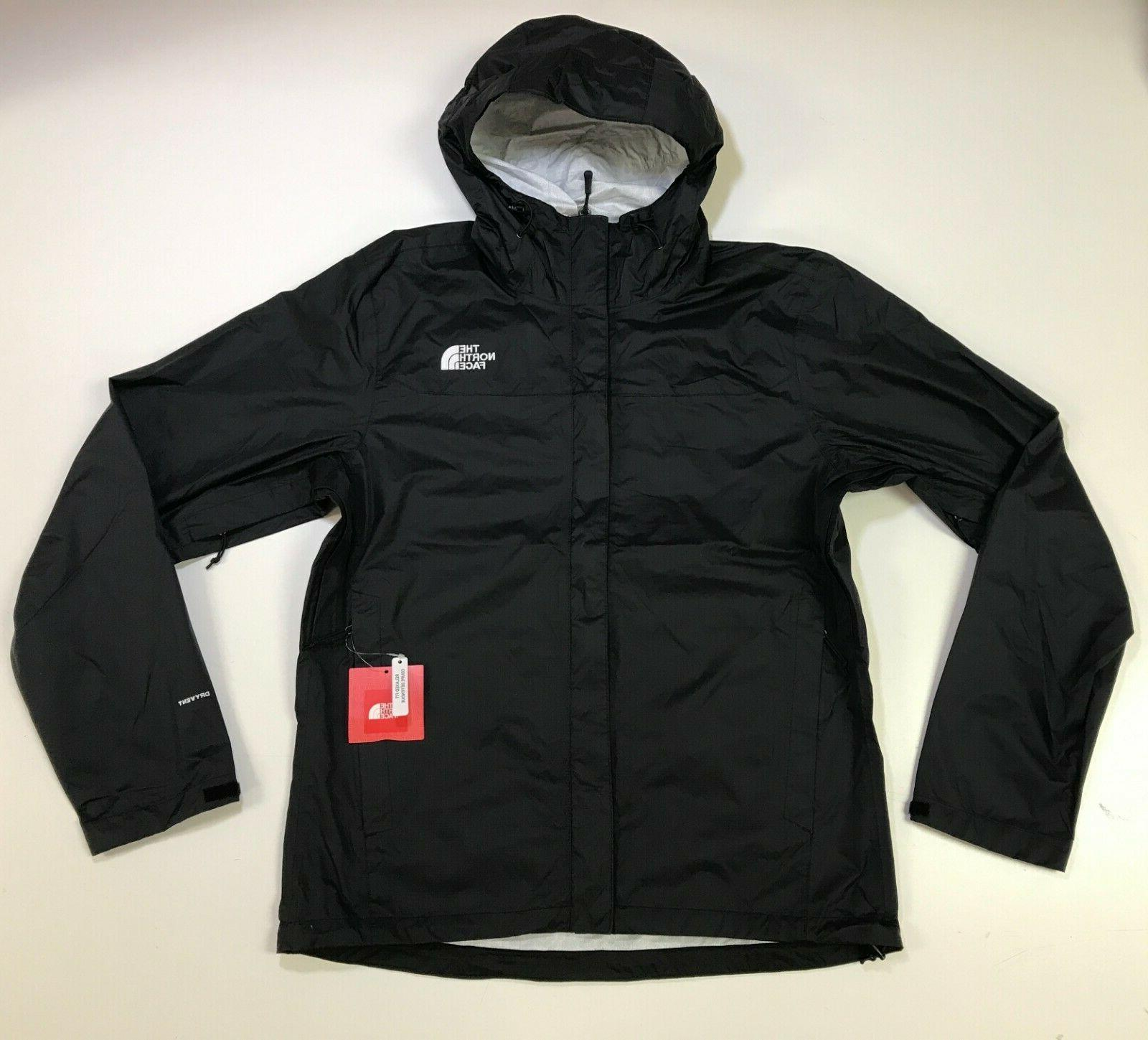 men s venture waterproof rain jacket tnf
