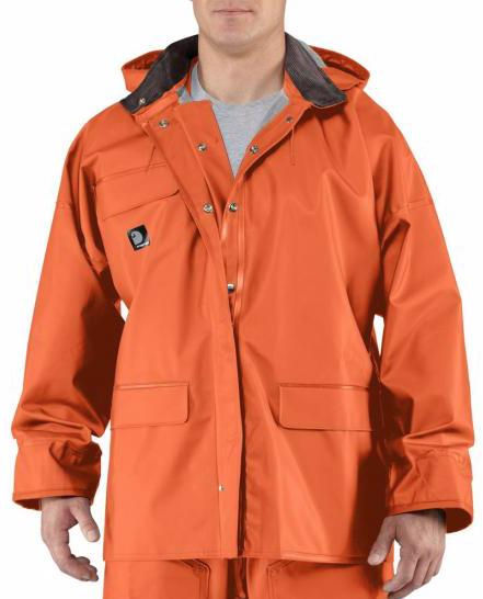 men s waterproof and wind resistant pvc