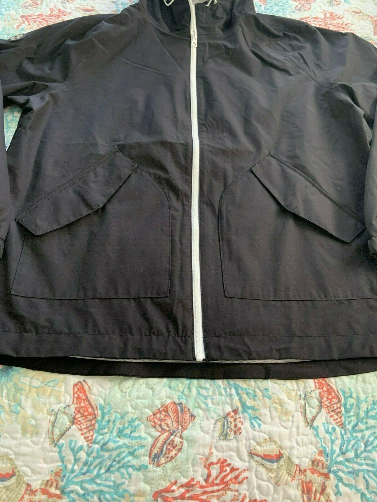 Timberland Men's Waterproof Hooded Rain XL $138