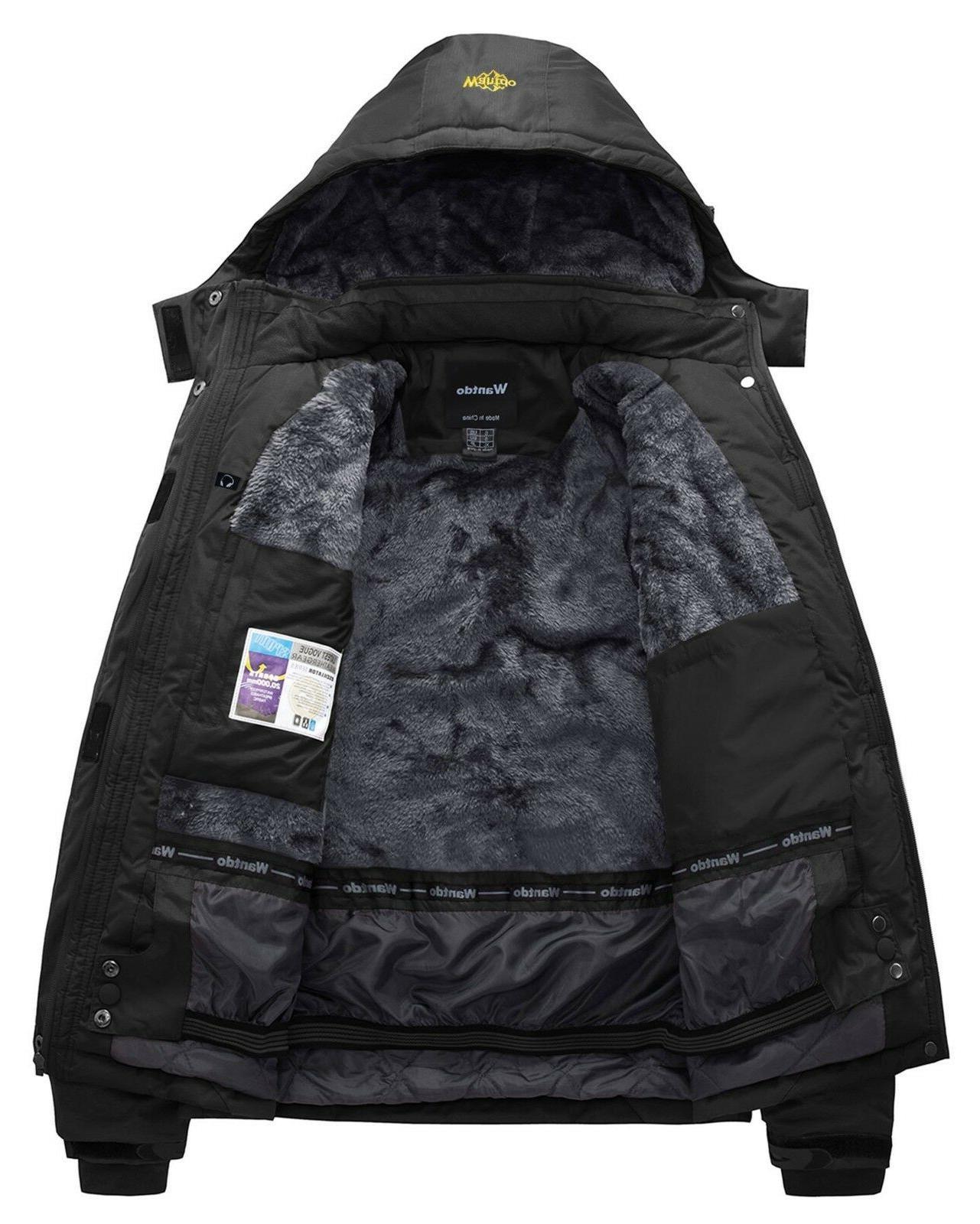 Wantdo Jacket Ski Jacket M Black M