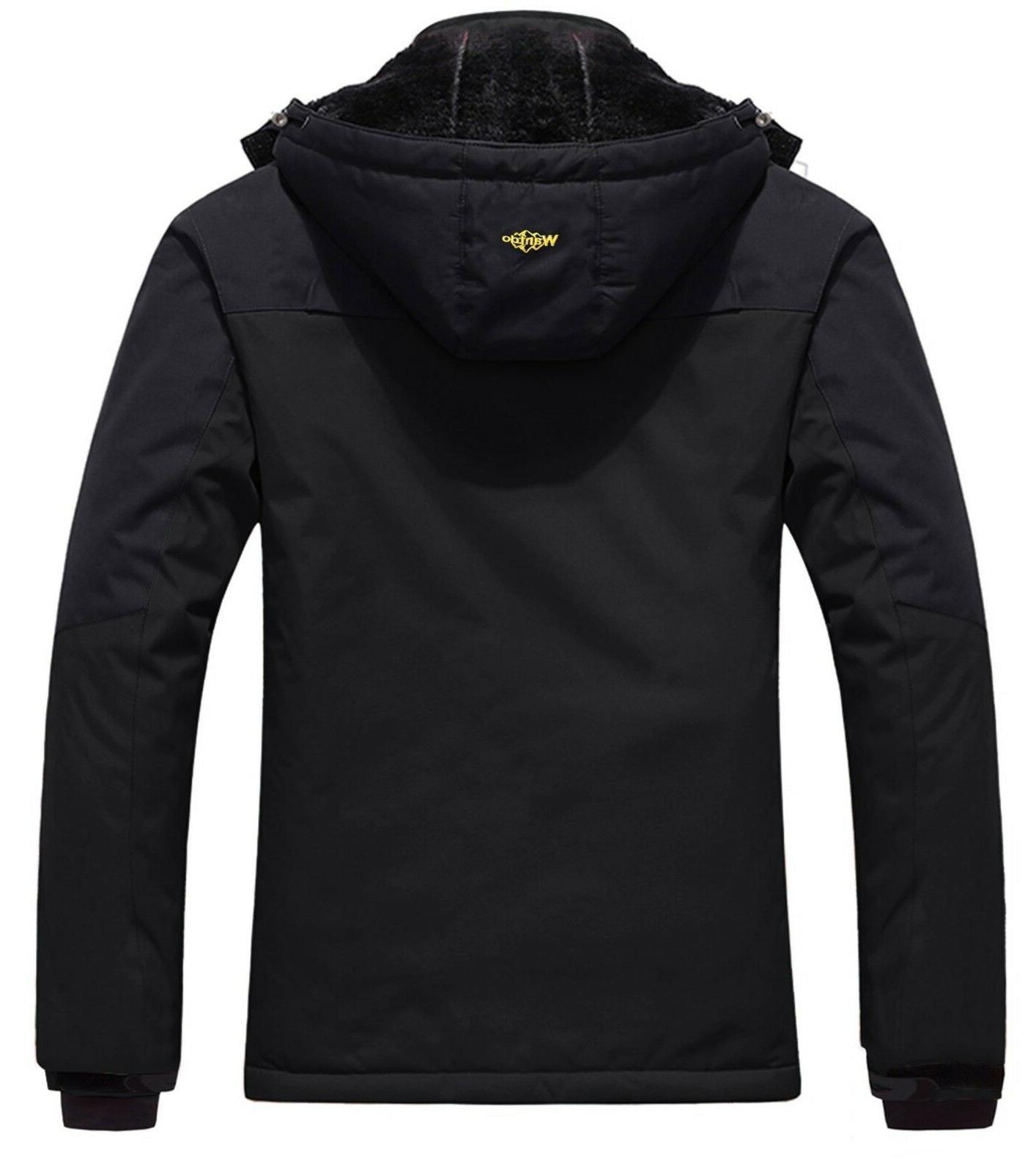 Wantdo Jacket Fleece Jacket US Black M