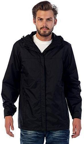 Gioberti Men's Rain Black - Size