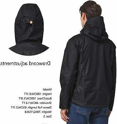 BALEAF Men's Jacket Lightweight Windbreaker Hooded for