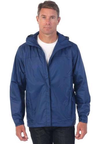 men s waterproof rain jacket navy x