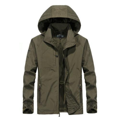 Men's Waterproof Jacket Breathable Rain Overcoat