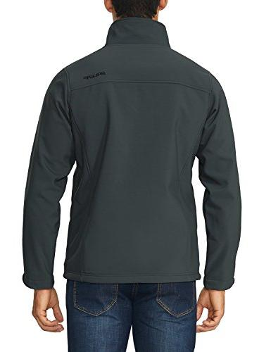 Baleaf Outdoor Jacket Microfleece Lined Gray