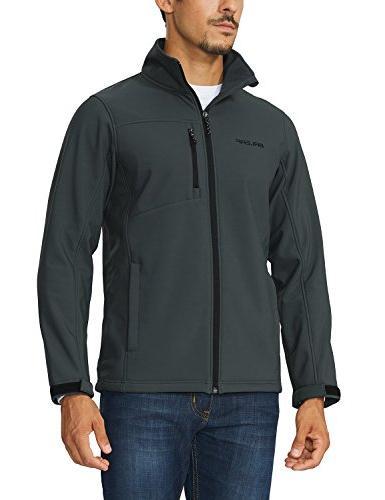 men s waterproof windproof outdoor softshell jacket