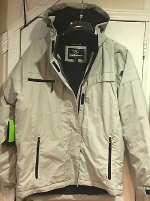 NordicTrack Men's Outerwear hood Coat