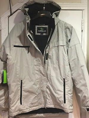 NordicTrack Men's Winter Jacket Outerwear Work hood ML$150