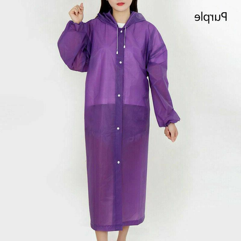 Men Women Raincoat Coat Gown Waterproof Jacket